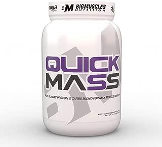 Bigmuscles Nutrition Quick Mass 2.2lbs (Malt Chocolate)