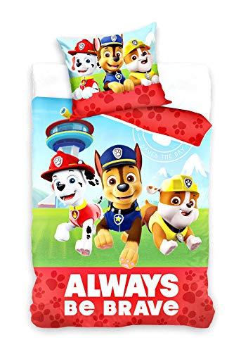 Paw Patrol Bettwäsche 135x200+80x80cm Kinderbettwäsche PAW18217-13581