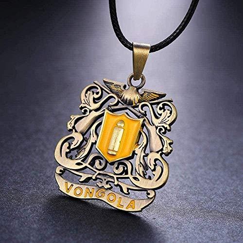ZPPYMXGZ Co.,ltd Necklace Fashion Anime Katekyo Hitman Reborn Metal Necklace Logo Pendant Accessories Jewelry