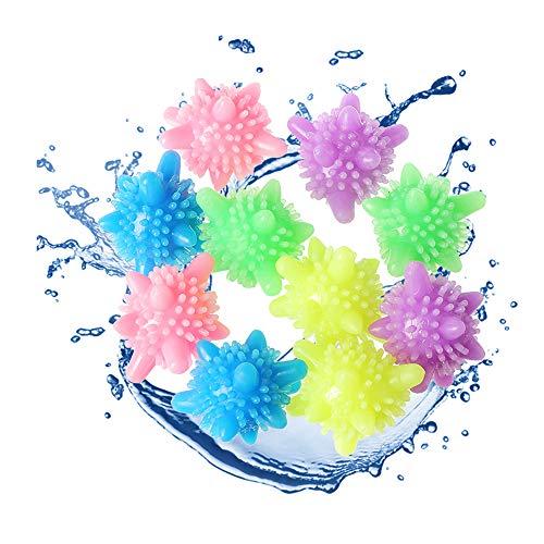 Washer Balls Laundry Balls Washing Ball,Laundry Scrubbing Balls Tangle-Free for Washing Machine, 15 Pack
