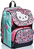 Zaino Estensibile Big Hello Kitty, Fabulous, Rosa e Azzurro, Scuole Elementari