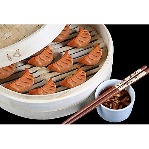 Yumbau Dimsum - Orange (Teigtaschen mit Spinat & Shiitake), vegan, TK, 500 g, 24 St.