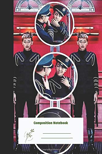 Composition Notebook: Namjoon Circles for writing , Sketching , Journal