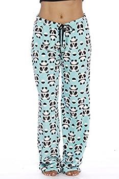 Just Love Women s Plush Pajama Pants Small Panda Jam