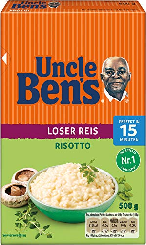 Uncle Ben's Risotto Reis Lose, 12 Packungen (12 x 500g)