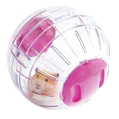 Rosewood 19329 Boredom Breaker Aktivitäts-Glitzerball für Hamster
