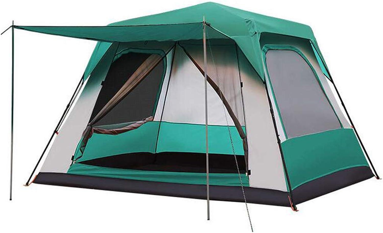 HUYYA Camping Zelte Wurfzelt 8-12 Personen Wasserabweisend, Das Zelt Faltbar Pop Up Sofortige Einrichtung Ausrüstung zum Wandern Rucksackreisen