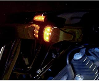 Alloy Art Smooth Black LED Front Turn Signals RGFS1-2