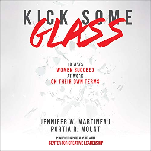 Kick Some Glass audiobook cover art