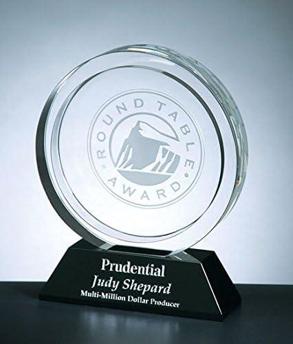 Winners Circle Max 65% famous OFF Optical Crystal Award