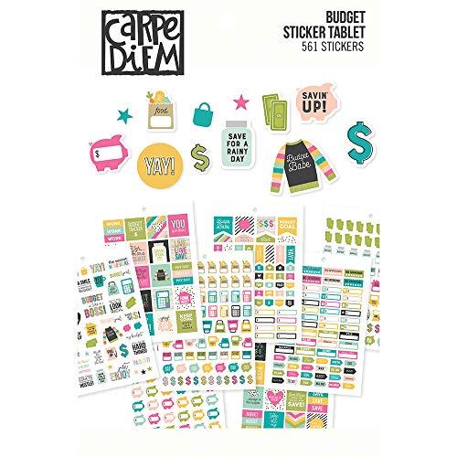 PUKKA PADS USA medium CARPE DIEM Live Simply Sticker Tablet Adesivo Multi