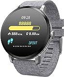 Aptitud podómetro perseguidor impermeable de oxígeno tasa de presión de monitorear el comportamiento de seguimiento de los movimientos de reloj inteligente multi-función de pantalla táctil del GPS Dig