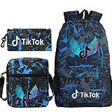 TIKTOK - Mochila y bolsas de viaje para niños y niñas Fleursa 11*6*16(in)