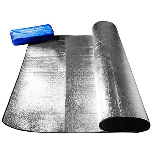SASAU Nuevo Papel de Aluminio Impermeable EVA Camping Mat Camping Picnic Picnic Colchón de Playa Alemar Mat Pad 3 Tamaño 100~200x300cm (Color : 150 200)