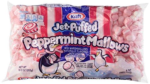 Kraft, Jet-Puffed, Peppermint Mini Marshmallows, 10oz Bag (Pack of 3)