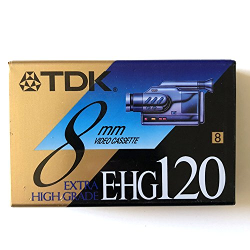 Check Out This TDK 8mm P6-120 HG High Grade Tape