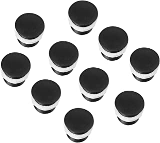 Alinory Screw Arcade Push Button, Game Parts Black Video Game Kid Joystick for Arcade Game