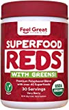Feel Great Vitamin Co. Organic Superfood Reds Powder |...