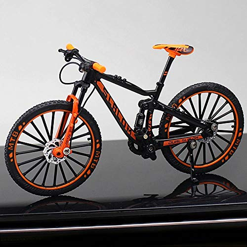AIOJY Decoración Creativa de aleación Modelo de simulación de Bicicletas Mini Toy de Bicicletas de montaña Cuesta Abajo Modelo de Moto Colección decoración cumpleaños de los niños del vehículo Regalo