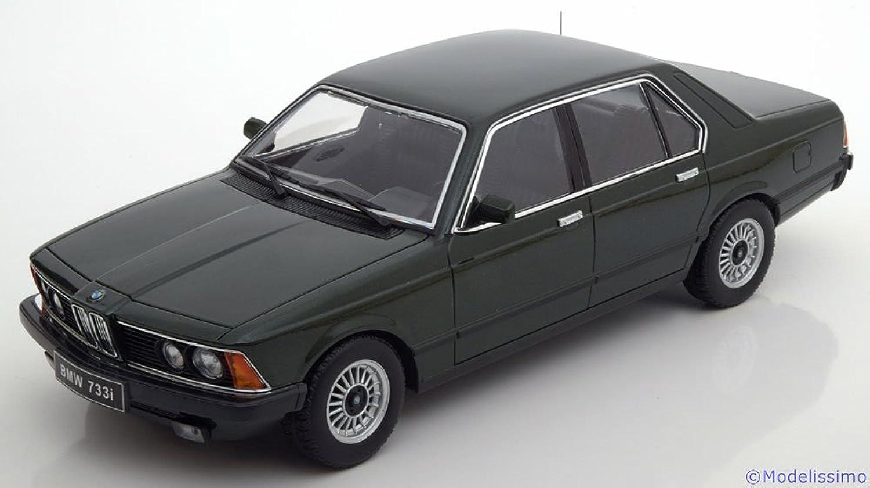 comprar nuevo barato KK Scale KKDC180103 KKDC180103 KKDC180103 - 733I E23 1977 Dark verde Metallic - Escala 1 18 - Vehiculo en Miniatura - diecast  salida de fábrica