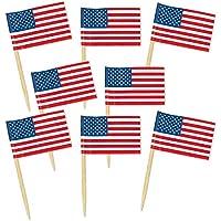 50-Pack Beistle Pkgd U S Flag Picks