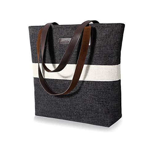 Lamyba Tote Bag for Women, Shoulder Tote Handbags Purse for Work Travel Shopping,Medium Size