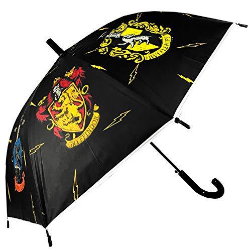 Paraplu Harry Potter Casas Hogwarts Slytherin Ravenclaw Huffindor Automatische paraplu kinderen meisjes 80 cm