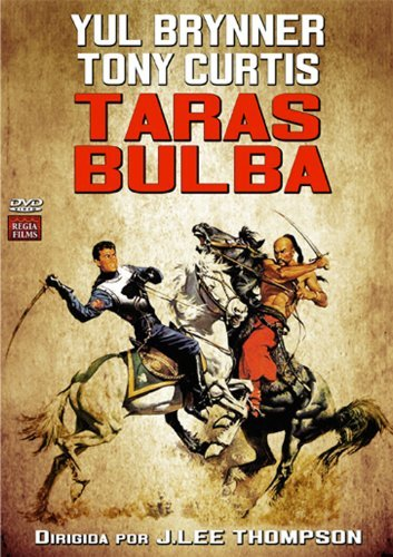 Taras Bulba (1962) - Region 2 PAL, English audio & subtitles by Yul Brynner