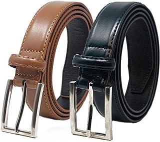Ashford Ridge cintur/ón de traje de cuero recubierto 30mm