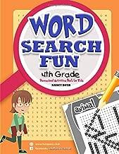 WORD SEARCH FUN 4 t h G r a d e: Homeschool books for 4th grade