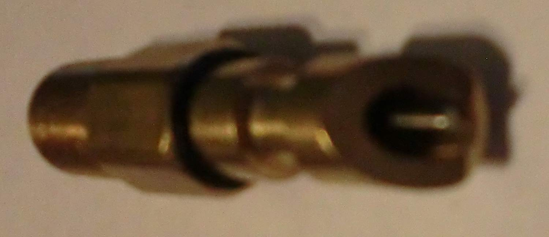 5 Threaded Brass Rabbit, Rodent Nipples