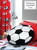 Catherine Lansfield Kids Kissen im Fußballdesign, Mehrfarbig