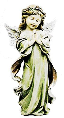 Napco Little Girl Angel Statue, 12.75'