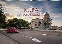 KUBA - Eine Zeitreise (Wandkalender 2022 DIN A2 quer): Eine faszinierende Bildreise durch den Westen Kubas. (Monatskalender, 14 Seiten )