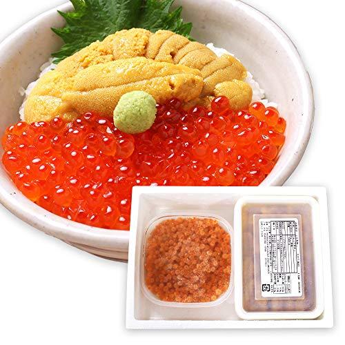 ウニ イクラ 丼 セット 無添加 うに 200g いくら醤油 200g 計4人前 二色丼 海鮮 セット 北国からの贈り物