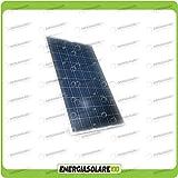 Pannello solare fotovoltaico 12V 200W in silicio policristallino