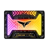 TEAMGROUP T-Force Delta TUF Gaming Alliance RGB SSD 1TB 2.5 inch SATA III 3D NAND Internal Solid State Drive (5V RGB Header) T253TT001T3C313