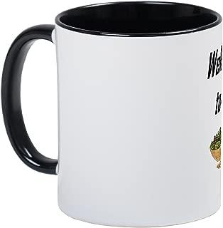 CafePress Tossed Salad & Scrambled Eggs Mug Unique Coffee Mug, Coffee Cup