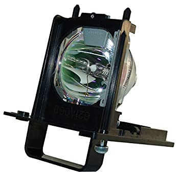 AuraBeam Economy 915B455011 for Mitsubishi WD-73640 Replacement TV Lamp with Housing / Enclosure