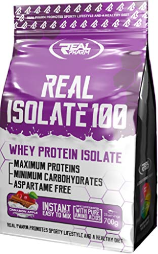 Real Pharm Real Isolate Whey Proteinas Instant (Caramelo, 700g)