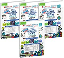 Oswaal CBSE SAMPLE QUESTION PAPERS CLASS 10 (Set of 4 Books) Mathematics (Standard), Science, Social Science, English...