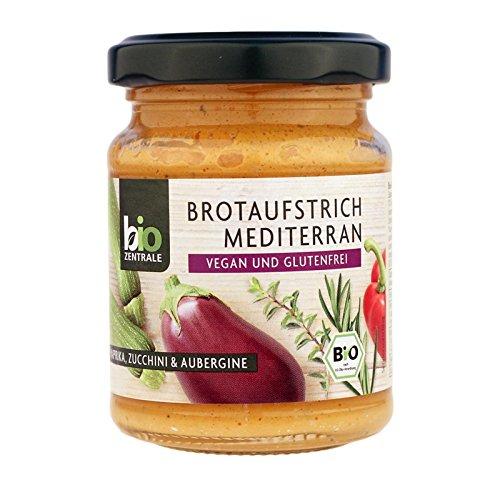 biozentrale Brotaufstrich Mediterran, 3er Pack (3x 125 g)
