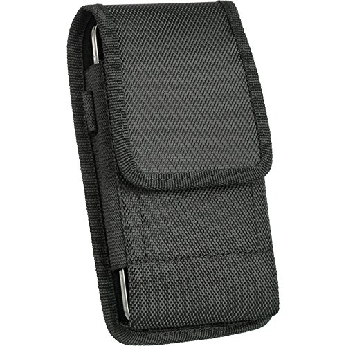 DW Heavy Duty Rugged EVA Canvas Carry Case for GreatCall Jitterbug Smart, GreatCall Alcatel Jitterbug Smart2
