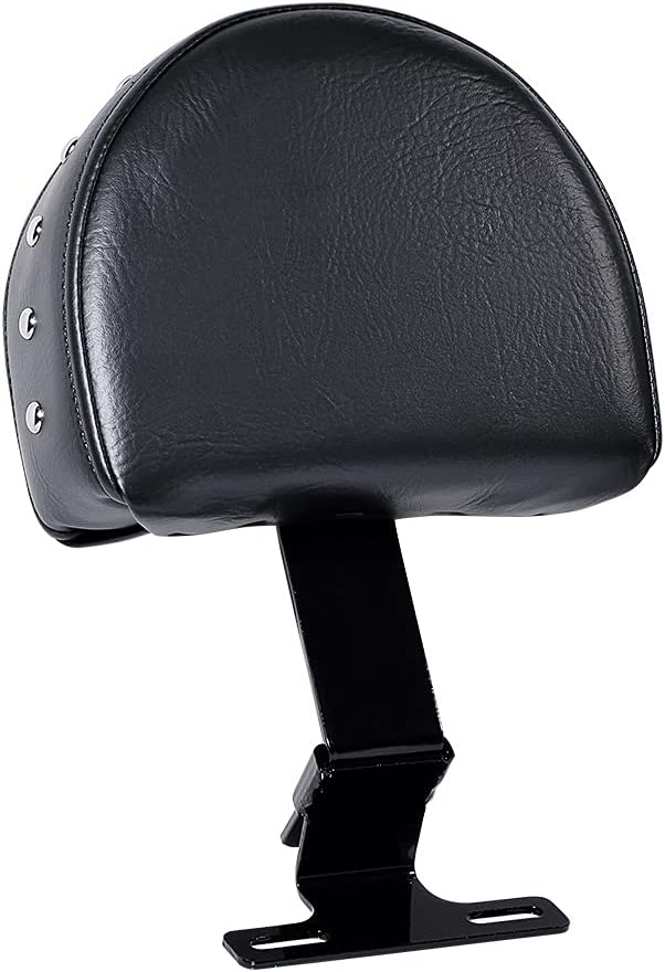 Black Adjustable At the price Plug-in Driver Rider Sta Adapter Metal Max 42% OFF Backrest
