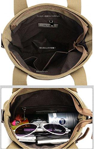 キャンバストートバッグ帆布bz1246(ブラック)
