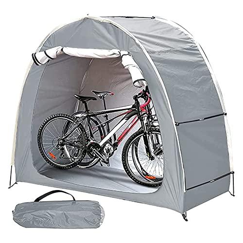 EEUK Carpa para Bicicletas Exterior, Impermeable Resistente A La Intemperie, Guarda Bicis Exterior para Patio Trasero Camping Senderismo Al Aire Libre