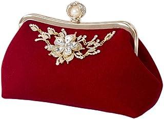 Umhängetasche Damen Clutch Mode Frauen Handtasche Abendparty Brautkupplung Umhängetasche Prom Hochzeit Brieftasche Geldbörse