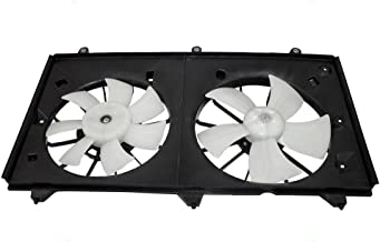 Denso Type Dual Cooling Fan Motor Assembly Replacement for 2003-2007 Honda Accord 2.4L 674-59790 AutoAndArt
