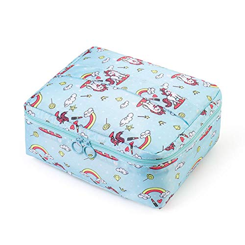 Zipper Travel Wash Pouch Toiletry Travel Storage Bag Mini Casual Portable Cosmetic Bag Waterproof Makeup Organizer d20*17.5*8cm