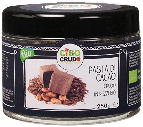 Cibocrudo Pasta di Cacao Crudo in Pezzi Bio - 250 gr